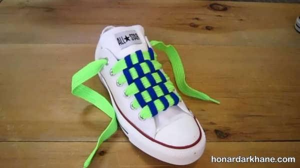 مدل های متنوع و خاص بستن بند کفش