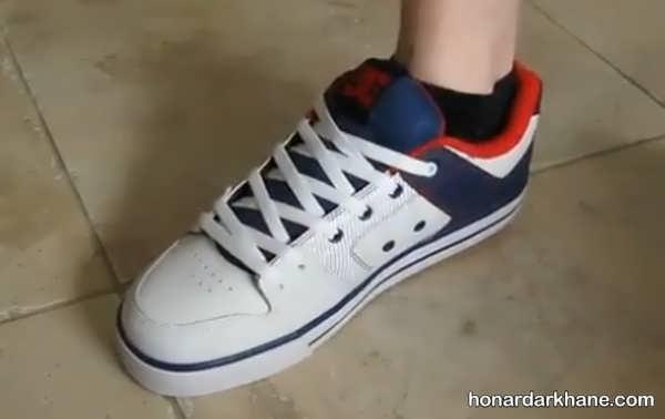 روش های جدید گره زدن بند انواع کفش