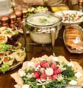 میز افطار شیک و لاکچری