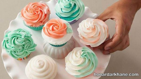 کاپ کیک های شیک و زیبا