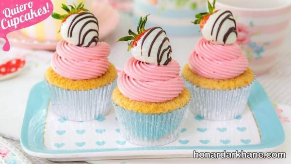 دیزاین کیک های فنجانی