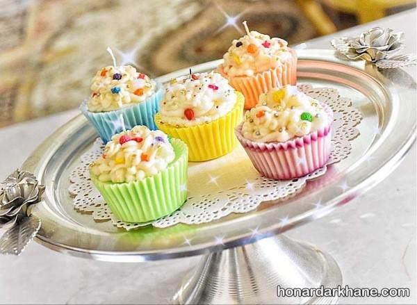 کیک های فنجانی زیبا