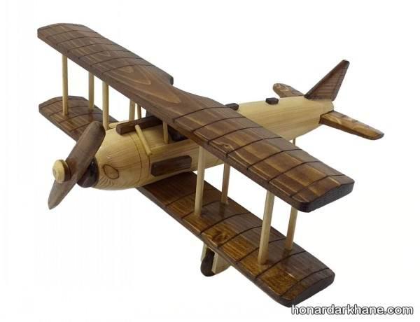 هواپیما چوبی دست ساز