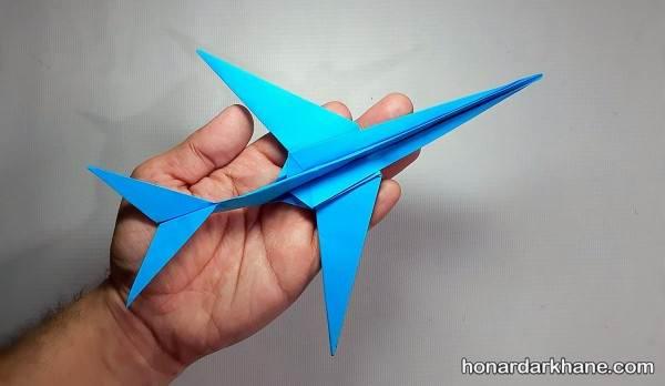 کاردستی هواپیما کاغذی
