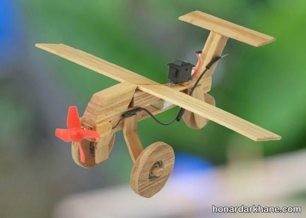 هواپیما چوبی