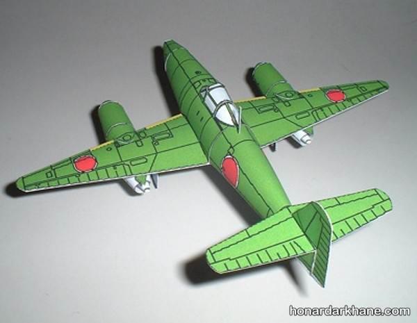 ساخت هواپیما مقوایی