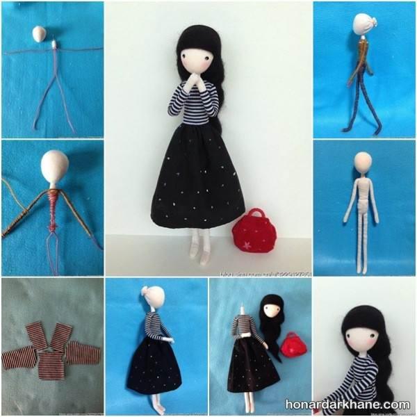 ساخت عروسک ساده
