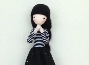 ساخت عروسک ساده و بامزه
