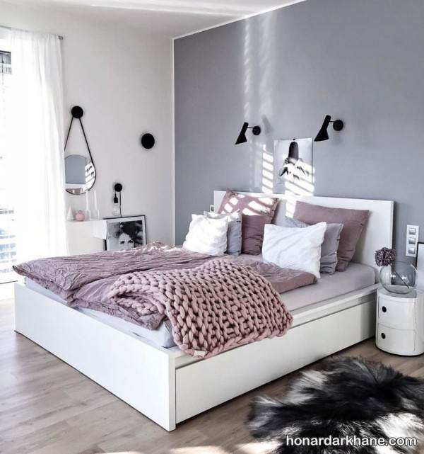 تزیین اتاق خواب اروپایی