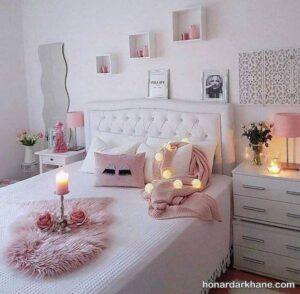 دیزاین اتاق با وسایل لاکچری