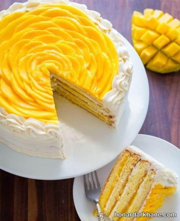 کیک نبه با دیزاین زیبا