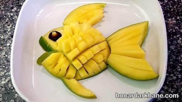 تزیین میوه کودکان