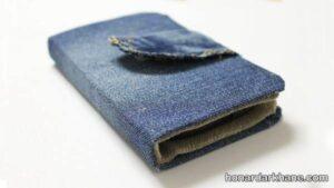 دوخت کیف با لباس جین