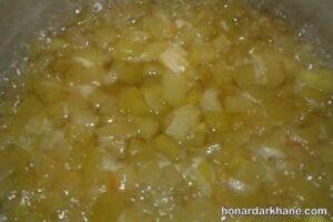 طرز پخت مربای پوست هندوانه
