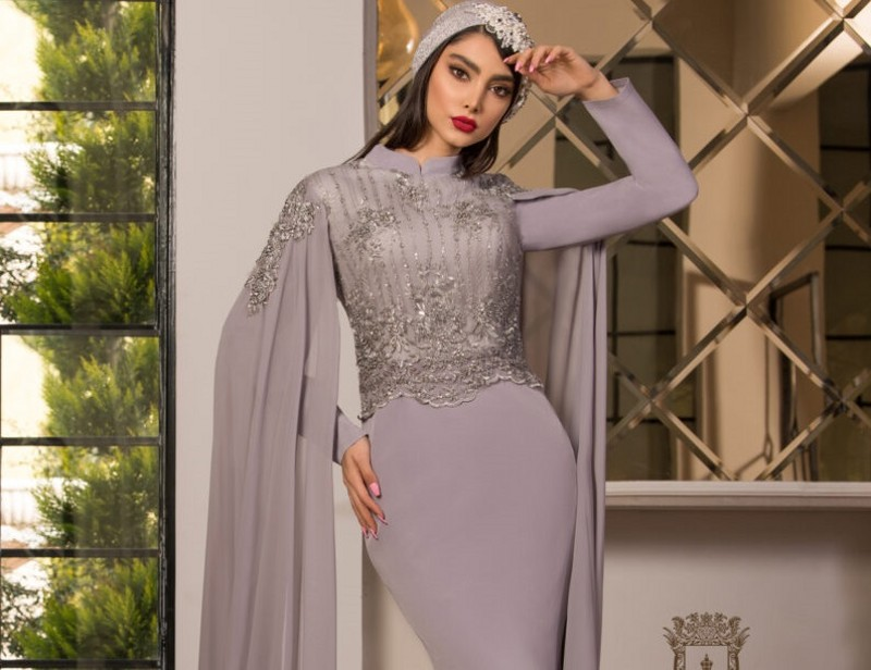 جدیدترین مدل های لباس مجلسی پوشیده و با حجاب