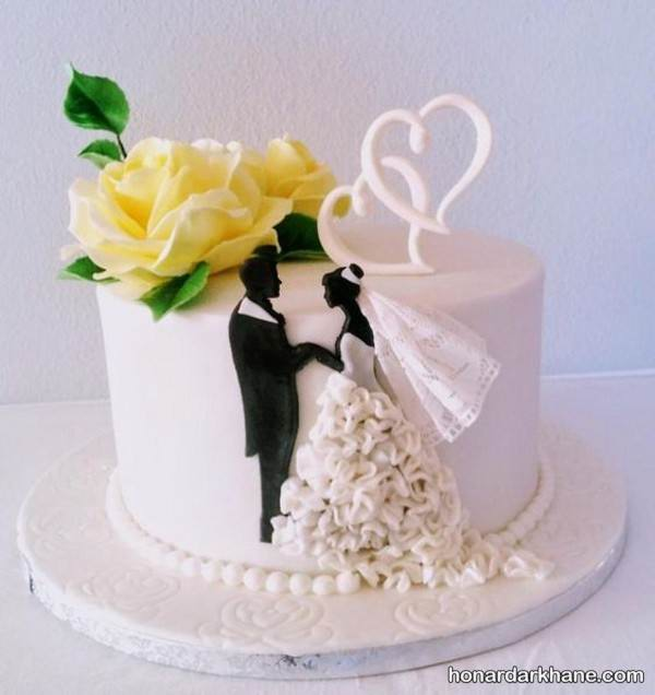 تزیین کیک سالگرد ازدواج