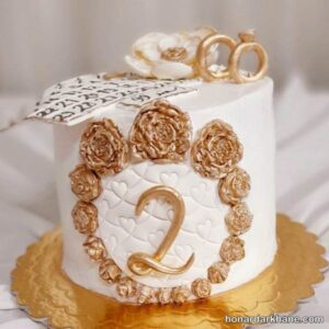 تزیین کیک شیک و زیبا