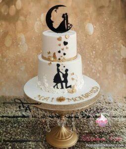 کیک رمانتیک و خاص