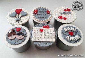 تزیین کیک های سالگرد ازدواج